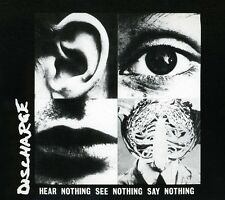 Hear Nothing See Nothing Say Nothing - Discharge (2007, CD NIEUW)