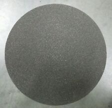 """5 SHEETS ROUND 12"""" GRIT 80 SAND PAPER SILICONE CARBIDE GRINDING DISC WATERPROOF"""