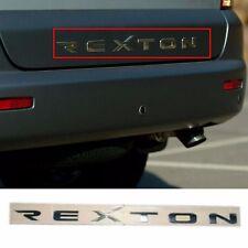 Rear Trunk REXTON Logo Emblem for OEM Parts Ssangyong 2006-2012 Rexton