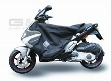 Tucano Urbano Leg guards Wind and Weather Protection in black for Gilera Runner