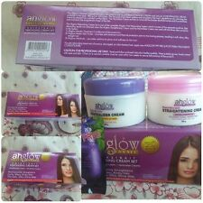 Ahglow Professionel Hairstrait Rebonding Cream SET 300G