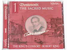 Monteverdi - Robert King & The King's Consort -Geistliche Musik Vol.1- CD