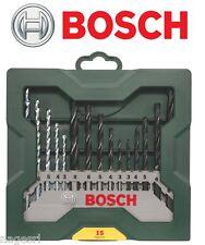 Bosch Set Punte X-Line 15 pezzi - Cemento Legno Ferro cod. 2607019675