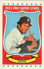 WILLIE DAVIS 1973 Kelloggs card #43 LA Los Angeles Dodgers NR MT