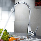 Chrome Hot/Cold Two Hole Mixer Sink Water Tap Basin Kitchen Wash Handle Faucet