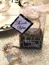 Diamond Keychain Bridal Shower Bachelorette Engagement Wedding Party Favor Gift