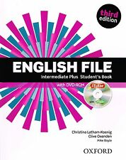 ENGLISH FILE Intermediate Plus THIRD Ed Student Book w DVD-ROM +iTutor @New 2014