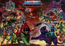 POSTER HE MAN AND THE MASTERS OF THE UNIVERSE GRANDE #2