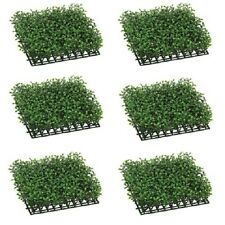 6 Artificial Boxwood Mat In Outdoor Grass Turf Hedge Wall Patio Plant Decor 419