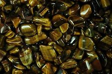 Tumbled Tiger Eye - 'A' Grade - 1 Full Pound!