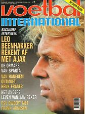 V.I. 1991 nr. 40 - CARLOS QUEIROS/LEO BEENHAKKER/HENK FRÄSER/FRANK ARNESEN