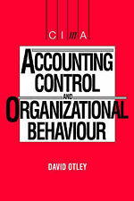 Accounting Control and Organisational Behaviour (CIMA Student),GOOD Book
