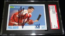 PAUL KARIYA 1993-94 CLASSIC DRAFT ROOKIE TEAM CANADA AUTOGRAPHED CARD SIGNED SGC