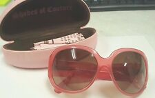 "Juicy Couture Sunglasses ""American Princess"" Pink #91644-11"