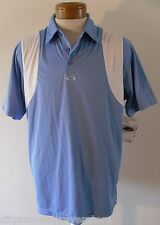 NWT Oakley Conduct Mens S/S Golf Polo Shirt L Blue MSRP$65