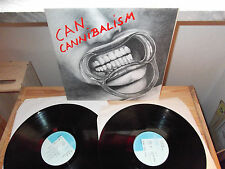 "CAN ""CANNIBALISM"" 2 LP CELLULOID FRANCE 1978 - GATEFOLD"