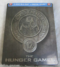 Hunger Games D12 Blu-ray Steelbook New & Sealed