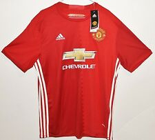 2016 #9 Ibrahimovic, red mens, Adidas, Manchester United jersey L+