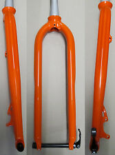 "Heli-Bikes Race 29 29"" 29er MTB Alu Gabel Starr Disc Only Tapered 15mm orange"
