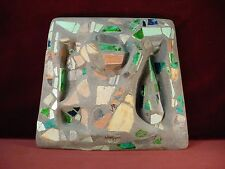 ANDY WING Mixed Media 1995 CHAIR SEAT TILE PIECE Sculptural Work LAGUNA ARTIST