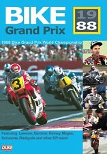 BIKE GRAND PRIX 1988 DVD. 220 Mins. Motorcycle GP. EDDIE LAWSON etc. DUKE 4769NV