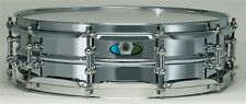 "Ludwig drums 5 x 15"" SupraLite 1.5mm beaded steel shell snare drum LW0515SL New"