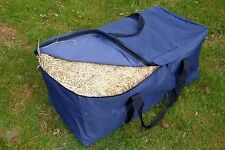 Hay Bale Bag Bags Great for Horse Floats  Camping Gear Bag Navy HBN2