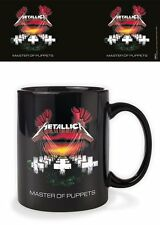 METALLICA MASTER OF PUPPETS MUG BOXED NEW 100 % OFFICIAL MERCHANDISE