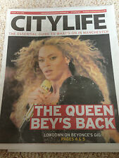 Beyonce Knowles City Life Manchester Gig Promo UK Cover Clippings Dwayne Johnson