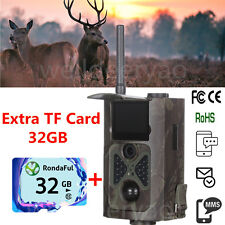 HC500G 940nm 3G MMS 12MP IR Hunting Camera Scouting Trail Video Cam+32GB TF Card