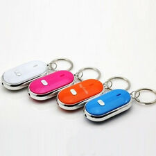Wireless Anti-Lost Key Finder Locator Keychain Whistle Sound LED Light Torch 1pc
