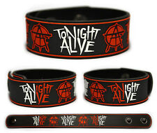 TONIGHT ALIVE Rubber Bracelet Wristband The Other Side What Are You So Scared Of