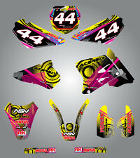 Full Custom Graphic Kit Suzuki RM 85  - 2001 - 2015 stickers / decals / graphics