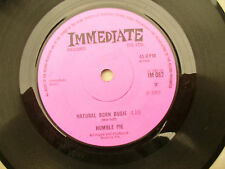 HUMBLE PIE NATURAL BORN BUGIE / WRIST JOB Immediate 082 very nice copy