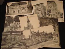 LOT  8 CPA BONNEVAL 28  ancienne Abbaye, auberge de la lanterne  1910