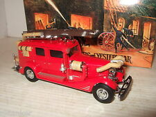 Rare Matchbox YFE03, 1933 Cadillac Fire Wagon Diecast Model