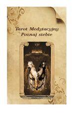 Poznaj siebie Tarot deck  - Dariusz Cecuda - NEW rare polish deck