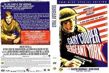 Sergeant York ~ New DVD 2006_2 Disc Sp. Ed. ~ Gary Cooper, Joan Leslie (1941)