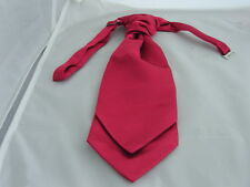 Dark Raspberry Ruche Wedding BOYS Polyester Tie-Cravat Page Boy P&P2UK 1st Class