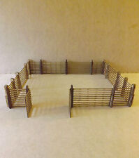 Fenced compound scenery terrain warhammer 40 wargame Infinity wargaming building