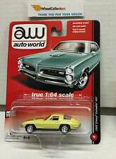 1967 Chevy Corvette 427 * YELLOW * Auto World * True 1:64 Scale * Y29