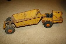 VINTAGE TRUCK MARX LUMAR STEEL CONSTRUCTION EARTH HAULER TOY RESTORE