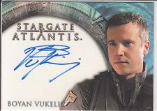 Stargate Atlantis Season 1: Boyan Vukelic  autograph