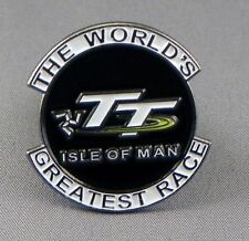 Isle of Man TT pin badge.Bikers badge. Biker. Worlds greatest motorcycle race