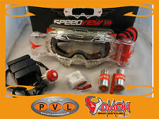 Speedview Brille Roll- Off System Speedview Goggle Gespann Zabel Motocross Scott