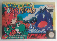 Super Mario World 2 Yoshi's Island Super Nintendo NEW