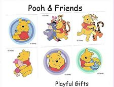 12 Winnie the Pooh Tattoos Party Favor