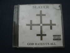 God Hates Us All [PA] by Slayer (CD, Sep-2001, American)