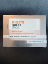 "ENLITE SUPER FACE ""GLOW FOR IT"" EXFOLIATING TREATMENT MASK 1.7 OZ - NEW IN BOX"