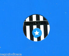 KICA Sorprese Decalcomania Figurina-Sticker anni 60 - JUVENTUS SCUDETTO METALLO